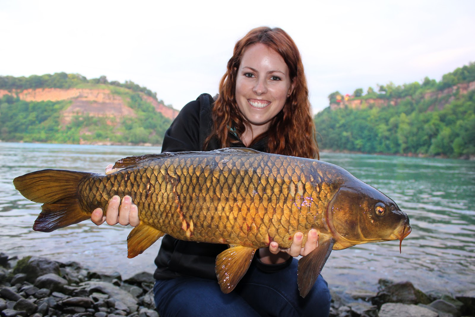 Firsts ontario carp new york smallies ashley rae for What does carp mean